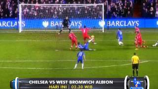 Barclays Premier League : Chelsea vs West Bromwich Albion di @Globaltvseru