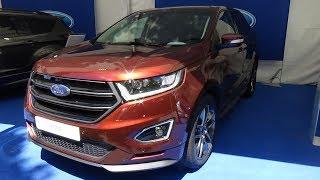 2017 Ford Edge Sport 2 0 TDCi 4x4 Exterior and Interior Automobile Barcelona 2017
