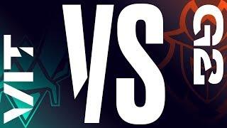 VIT vs. G2 - Week 4 Day 1   LEC Spring Split   Vitality vs. G2 Esports (2019)