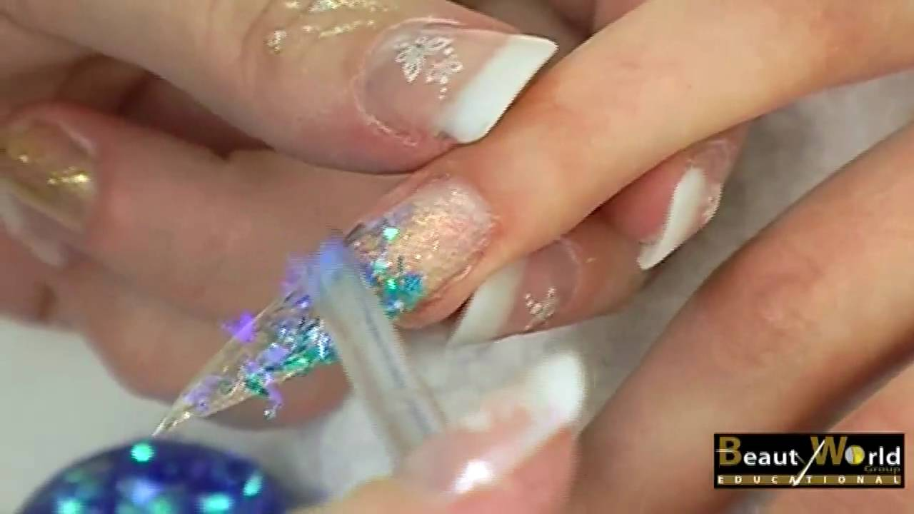 Corso di Nail Art - Fantasy Nails - YouTube