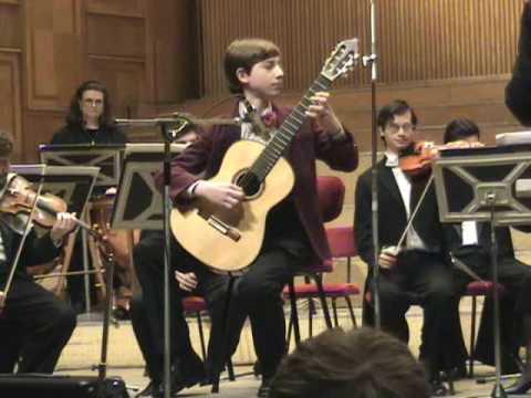 Amazing 13YearOld! (Mircea Gogoncea) - Giuliani Concerto I