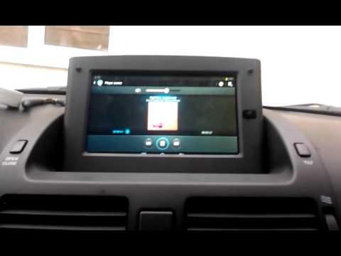 toyota avensis t25 tablet youtube. Black Bedroom Furniture Sets. Home Design Ideas
