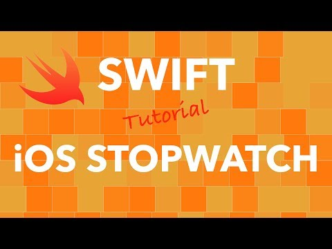 Swift IOS Stopwatch App
