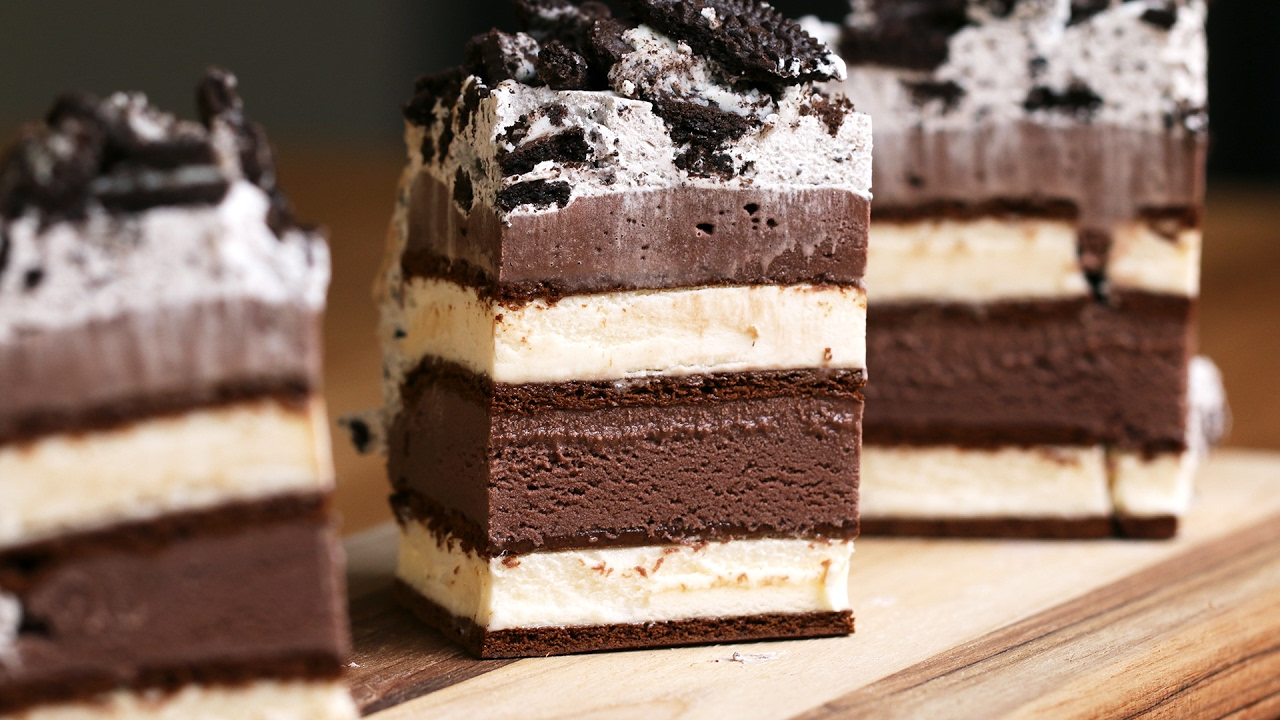 Ice Cream Sandwich Cake Youtube