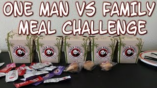 Panda Express Giant Family Meal Challenge *One Man Panda Feast* | FreakEating vs the World 84