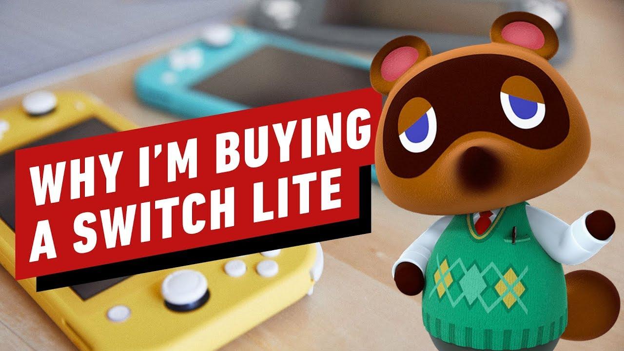 Warum ich einen Nintendo Switch Lite bekomme, obwohl ich einen Switch habe + video