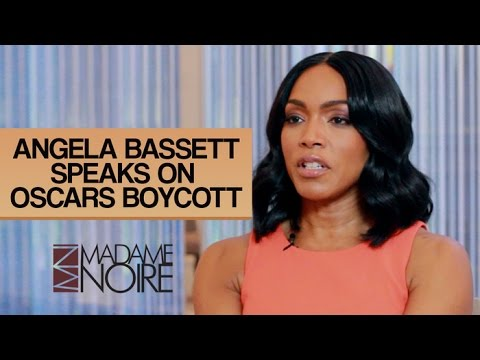 Angela Bassett Talks Oscars So White