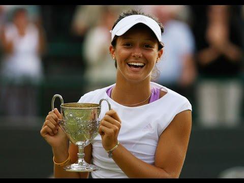 Laura Robson vs. Noppawan Lertcheewakarn 6-3, 3-6, 6-1 Wimbledon Ladies' Singles (F) 05.07.2008.