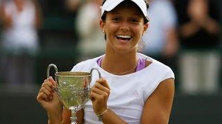 Laura Robson vs. Noppawan Lertcheewakarn 6-3, 3-6, 6-1 Wimbledon Ladies
