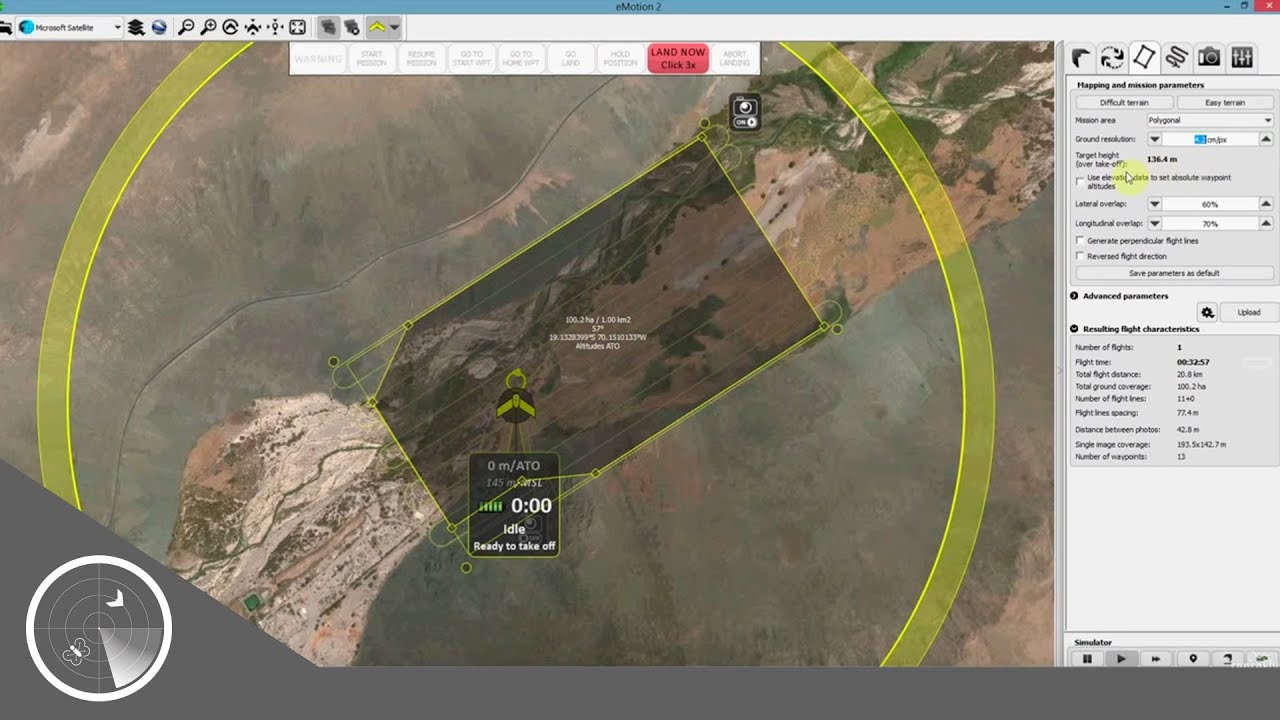 SenseFly EMotion Drone Flight Planning Control Software - Drone mapping software free