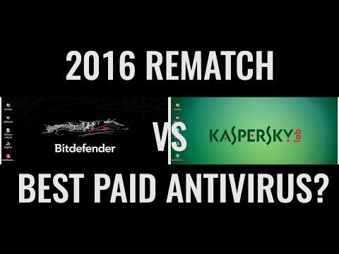 Kaspersky vs Bitdefender 2016 | The Rematch | Best Antivirus?