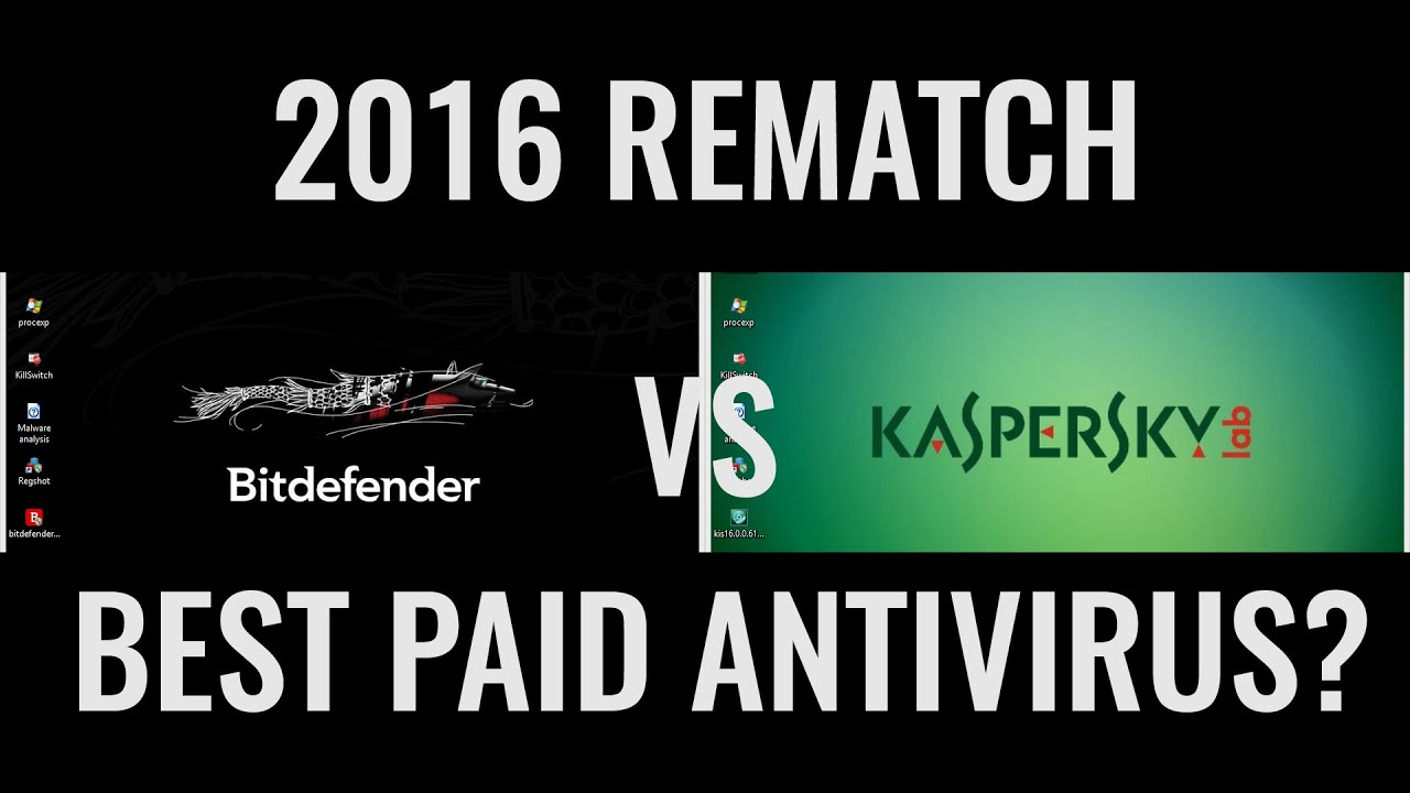 Kaspersky vs Bitdefender 2016 | The Rematch | Best Antivirus? - YouTube | kenhtv