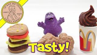 Play-Doh McDonald's Happy Meal Playset - Mini Play Food! | Kids Meal Toys | LuckyPennyShop.com