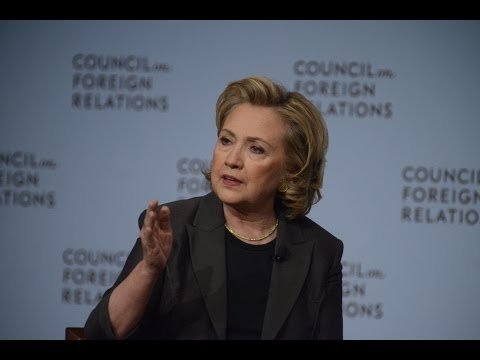 Hillary Rodham Clinton on Strategic Interests, Values, and Hard Choices