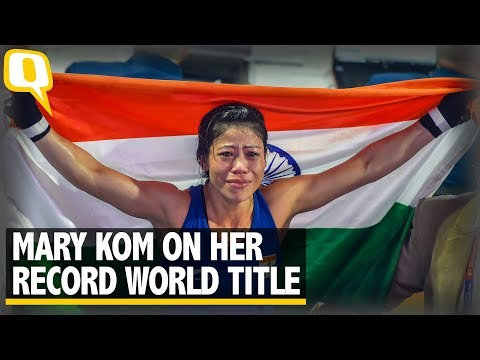 'There Won't Be Another Me': Chirpy Mary Kom Basks in Record Glory | The Quint