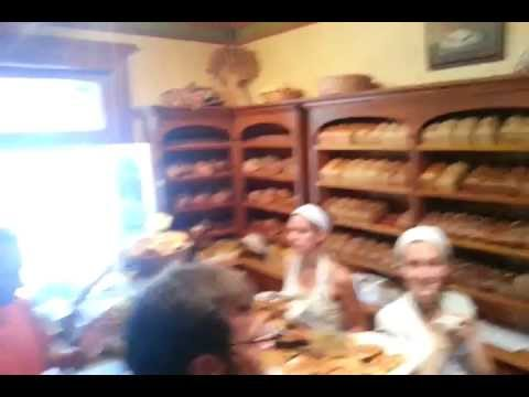 Boulangerie a Kamouraska, Quebec