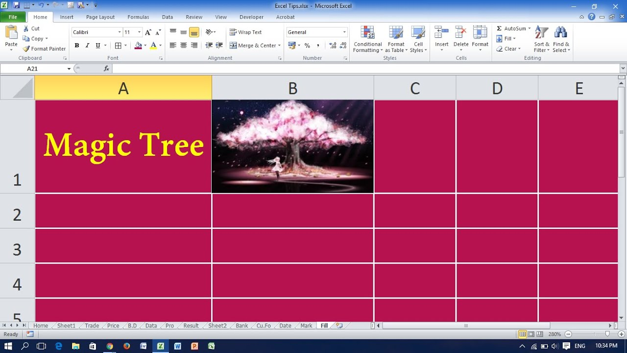 insert picture into excel cell  Insert Picture into an Excel Cell - YouTube