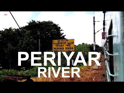 Indian Railways: Crossing The Periyar River At Aluva