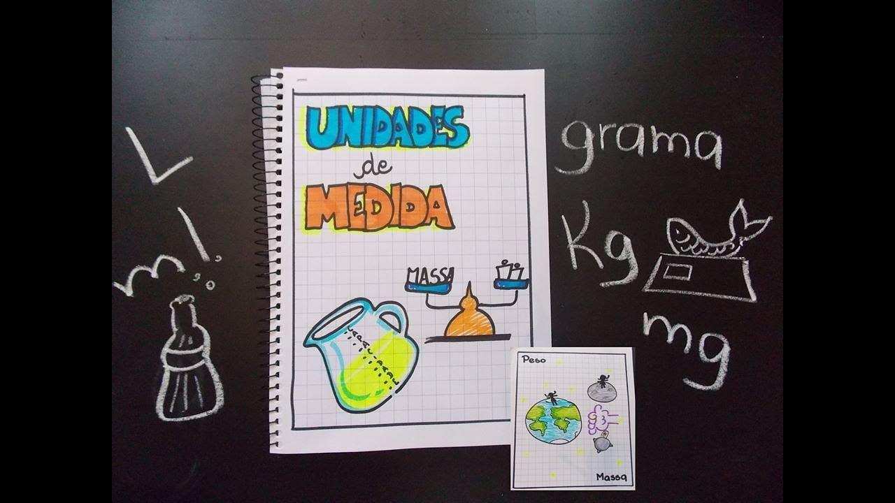 UNIDADES DE MEDIDA DE MASSA E CAPACIDADE - YouTube