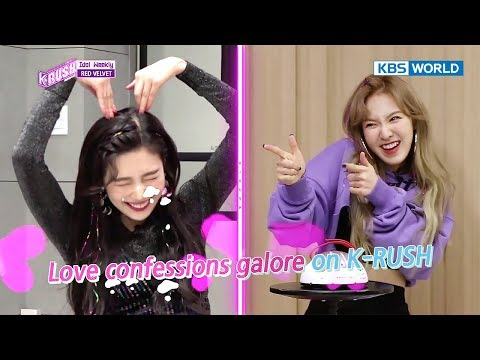 Idol Weekly Interview with Red Velvet [KBS World Idol Show K-rush2 / 2017.12.01]