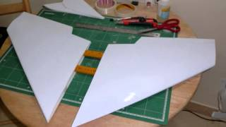 How to fold depron wings