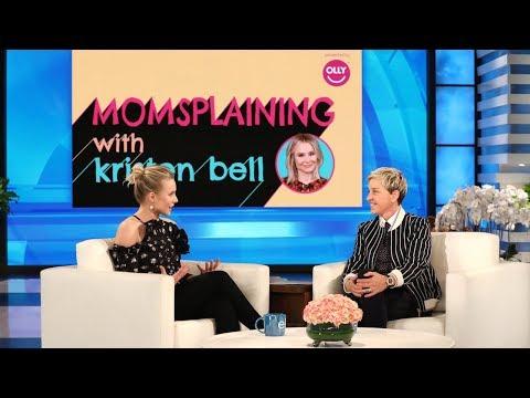 Kristen Bell Ps Her New Web Series 'Momsplaining'