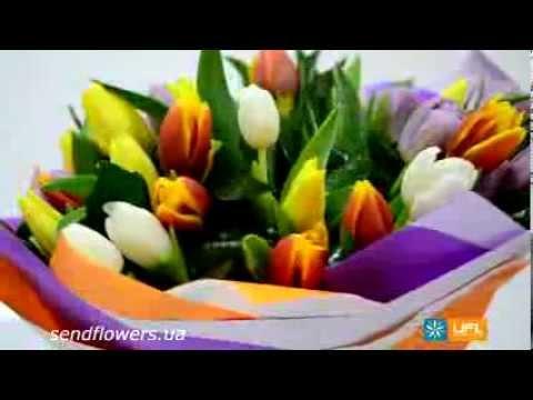 Букет Амстердам. Заказать букет - SendFlowers.uaиз YouTube · С высокой четкостью · Длительность: 31 с  · Просмотры: более 1.000 · отправлено: 28.02.2014 · кем отправлено: UFL - онлайн сервис доставки цветов