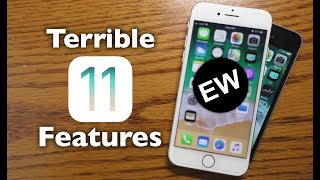 Terrible New Features in iOS 11