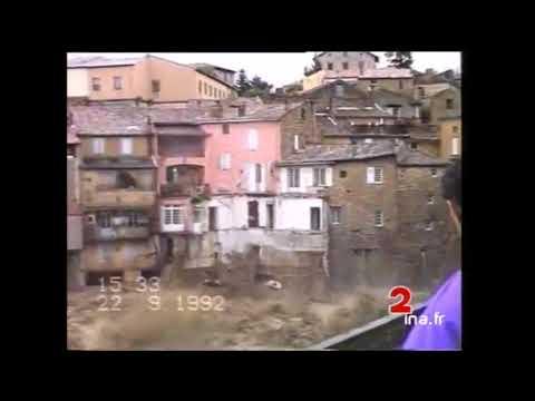 Inondation à Vaison-la-Romaine le 22 septembre 1992