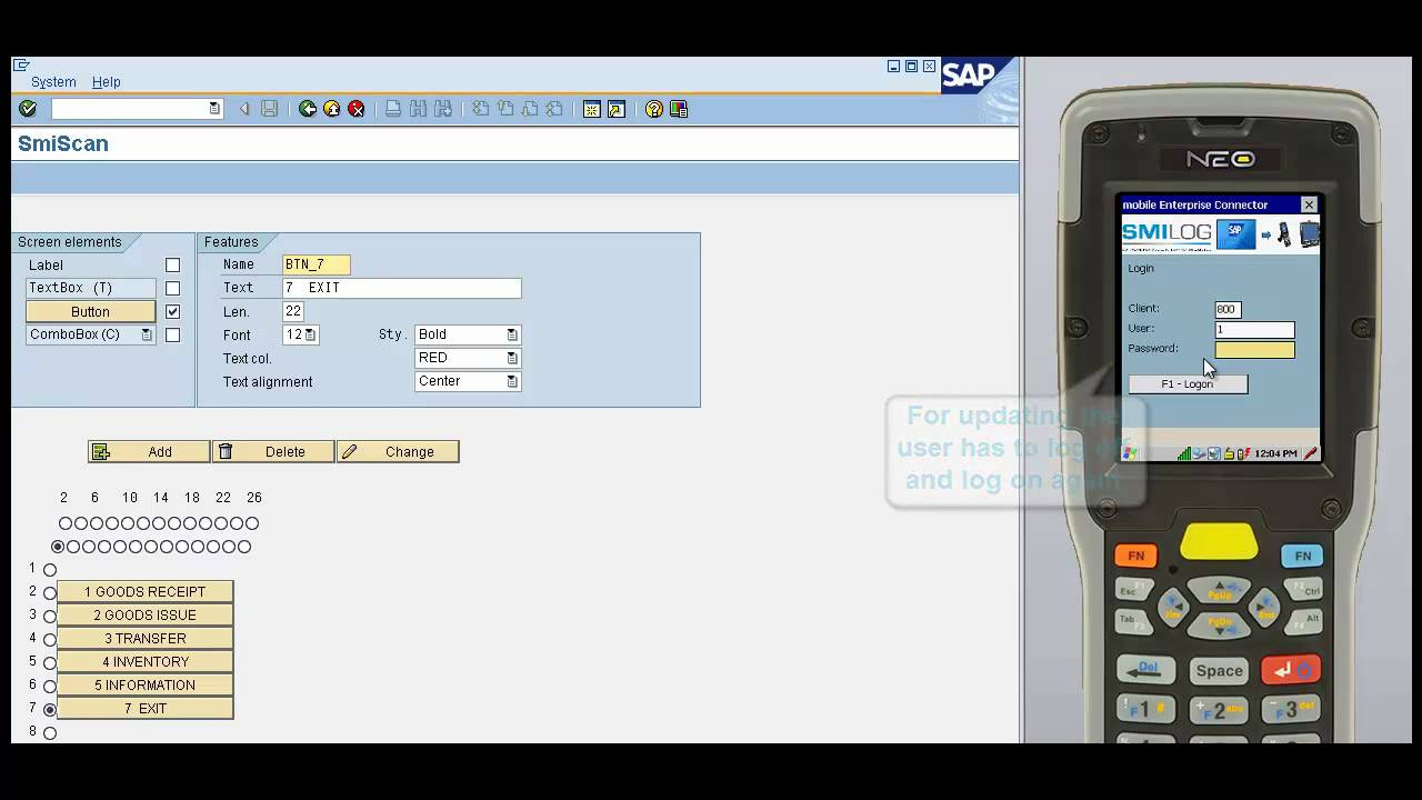 SAP® simply mobilized with smiScan