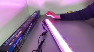 Обзор Led светильник для аквариума Sunsun SL - 800 RWB три цвета диодов