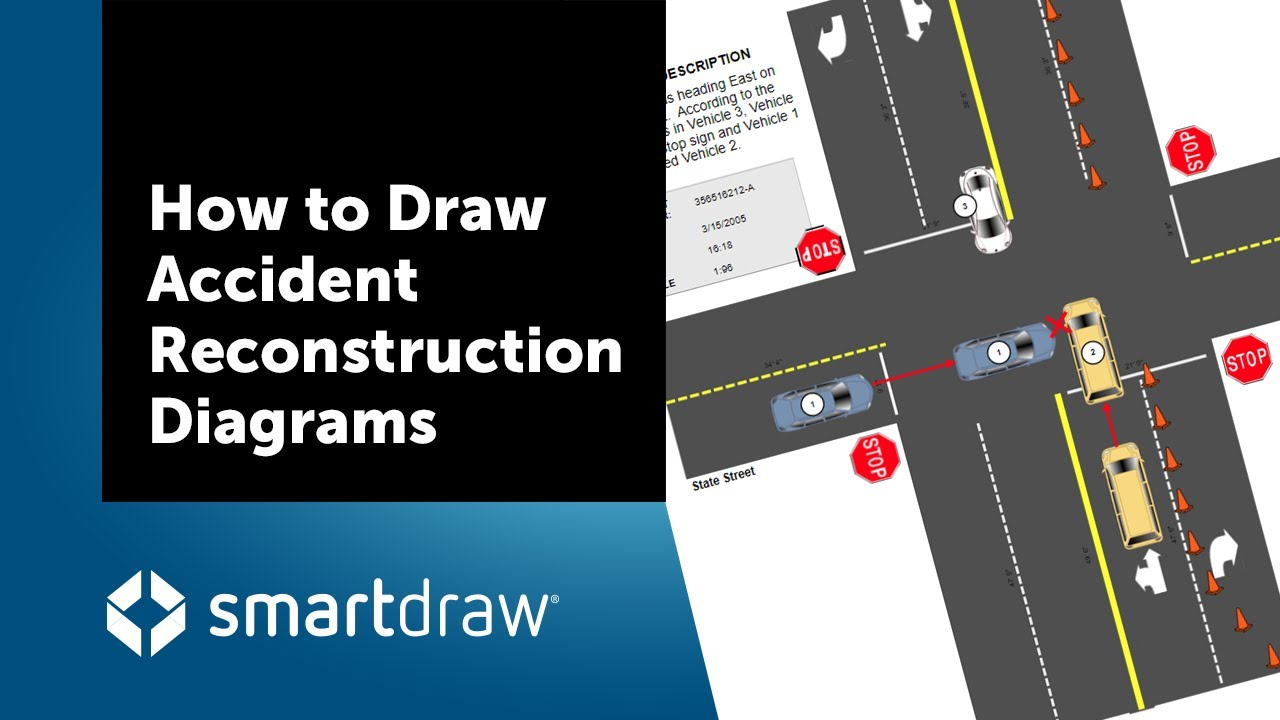 How to Draw Accident Reconstruction Diagrams and Sketches - YouTubeYouTube