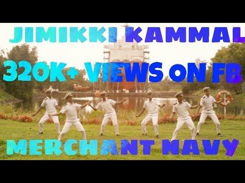 Jimikki Kammal |Dance By Seafarers |Merchant Navy |Velipadinte Pustakam