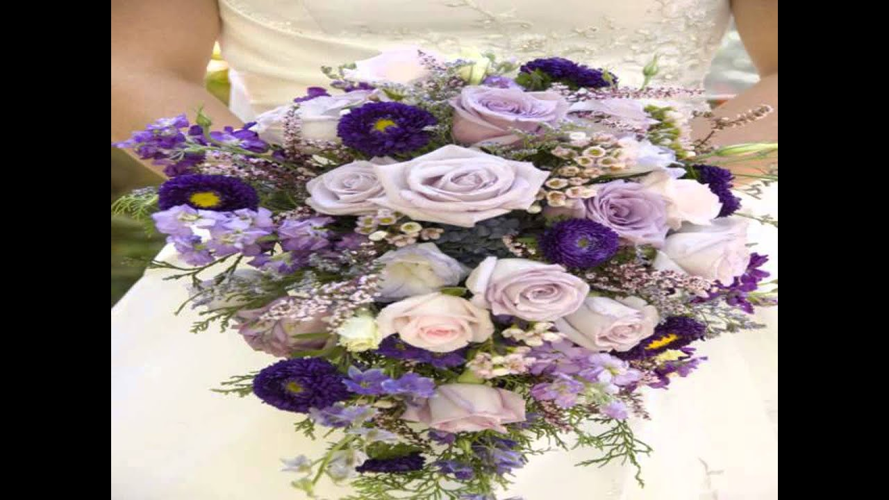 Artificial Royal Blue Wedding Flowersavi Youtube