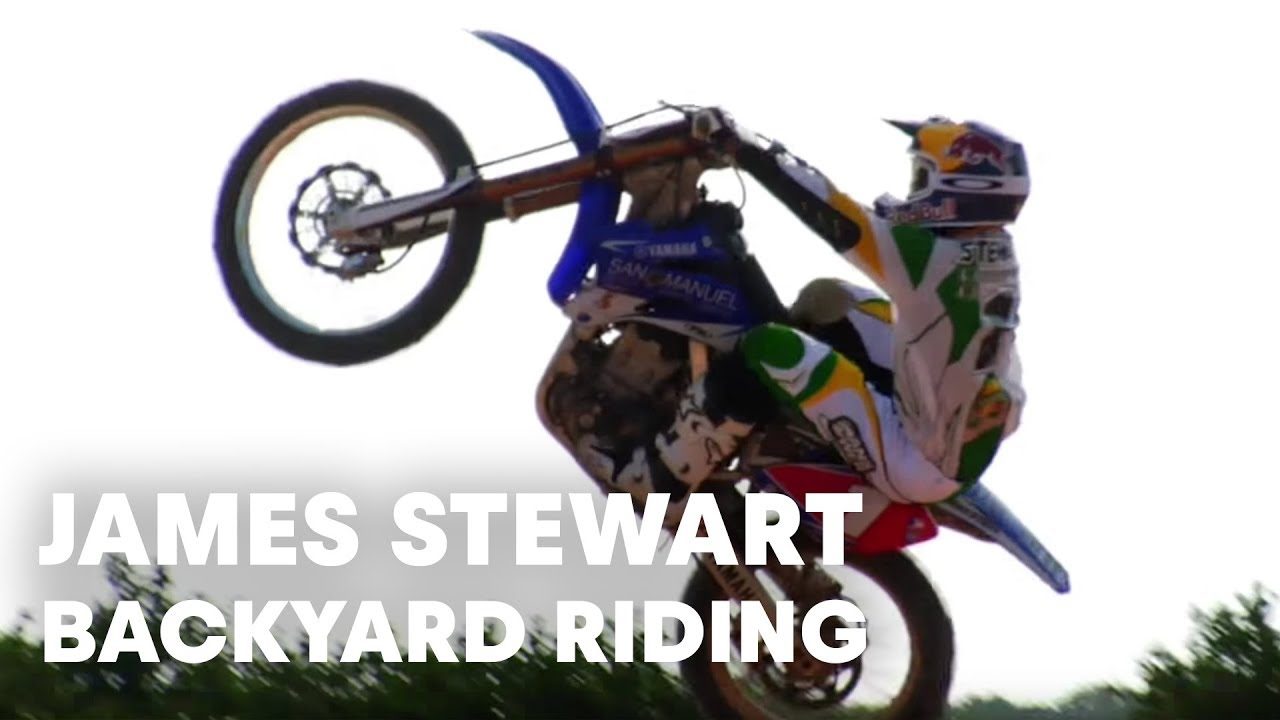James Stewart heli shoot and backyard riding session