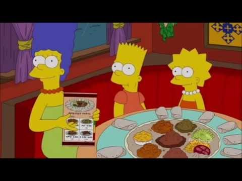 The Simpsons Ethiopian Restaurant S23 E5