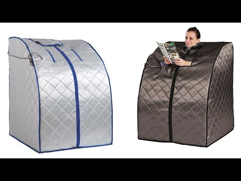 Top 5 Best Portable Infrared Saunas Reviews 2016, Best Portable Infrared Sauna for Personal Use