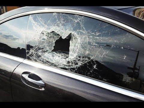 Как разбить стекло в BMW
