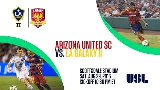 Arizona United SC vs LA Galaxy II