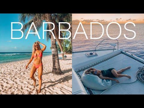 Barbados travel vlog - what to do in barbados - rihanna's house, bridgetown, oistins, run barbados mp3