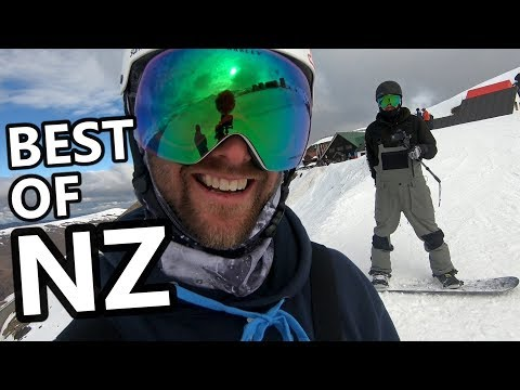 The Best Parts of Snowboarding New Zealand