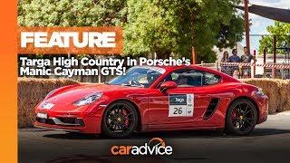 Targa High Country in the Porsche 718 Cayman GTS!