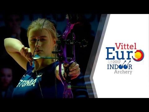 Russia v Estonia  Compound Junior Women's Team Gold Final | Vittel 2017