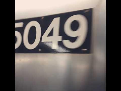 R68A #5049 (B) + R68A #5120 (B) + R160 #9811 (F) leaving West 4th Street - Washington Square