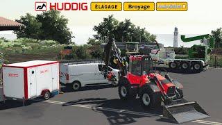 Travaux D'élagage & Broyage | Huddig 1260E | Farming Simulator 19
