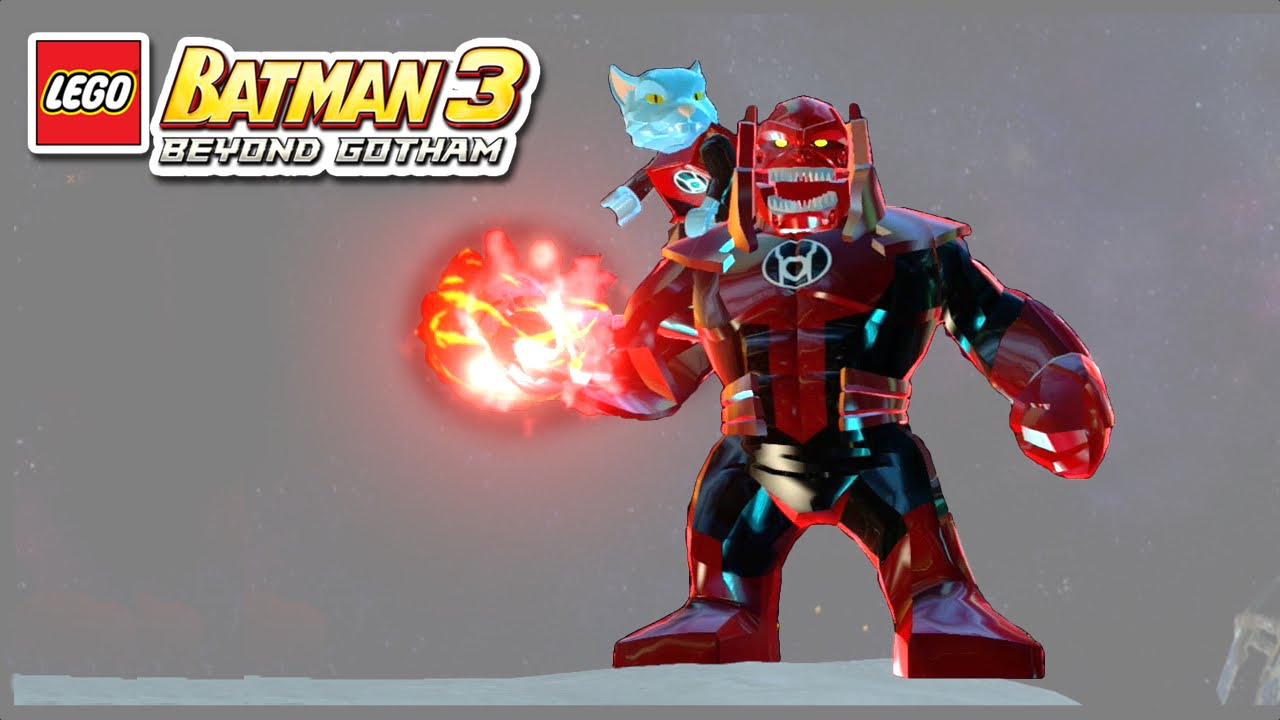 LEGO Batman 3 - Atrocitus - Free Roam Gameplay - YouTube