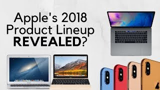 Apple's 2018 Product Lineup REVEALED?