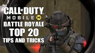 Top 20 Tips to Win In Call of Duty Mobile Battle Royale