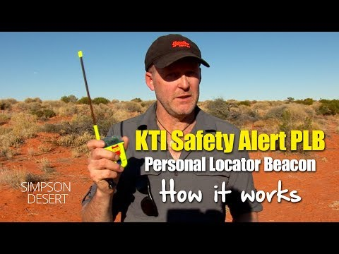 How a KTI Personal Locator Beacon PLB Works