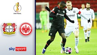 Bayer 04 Leverkusen - Eintracht Frankfurt | Highlights - DFB-Pokal 2020/21 | 2. Runde